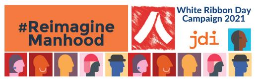 #ReimagineManhood 2021 Logo