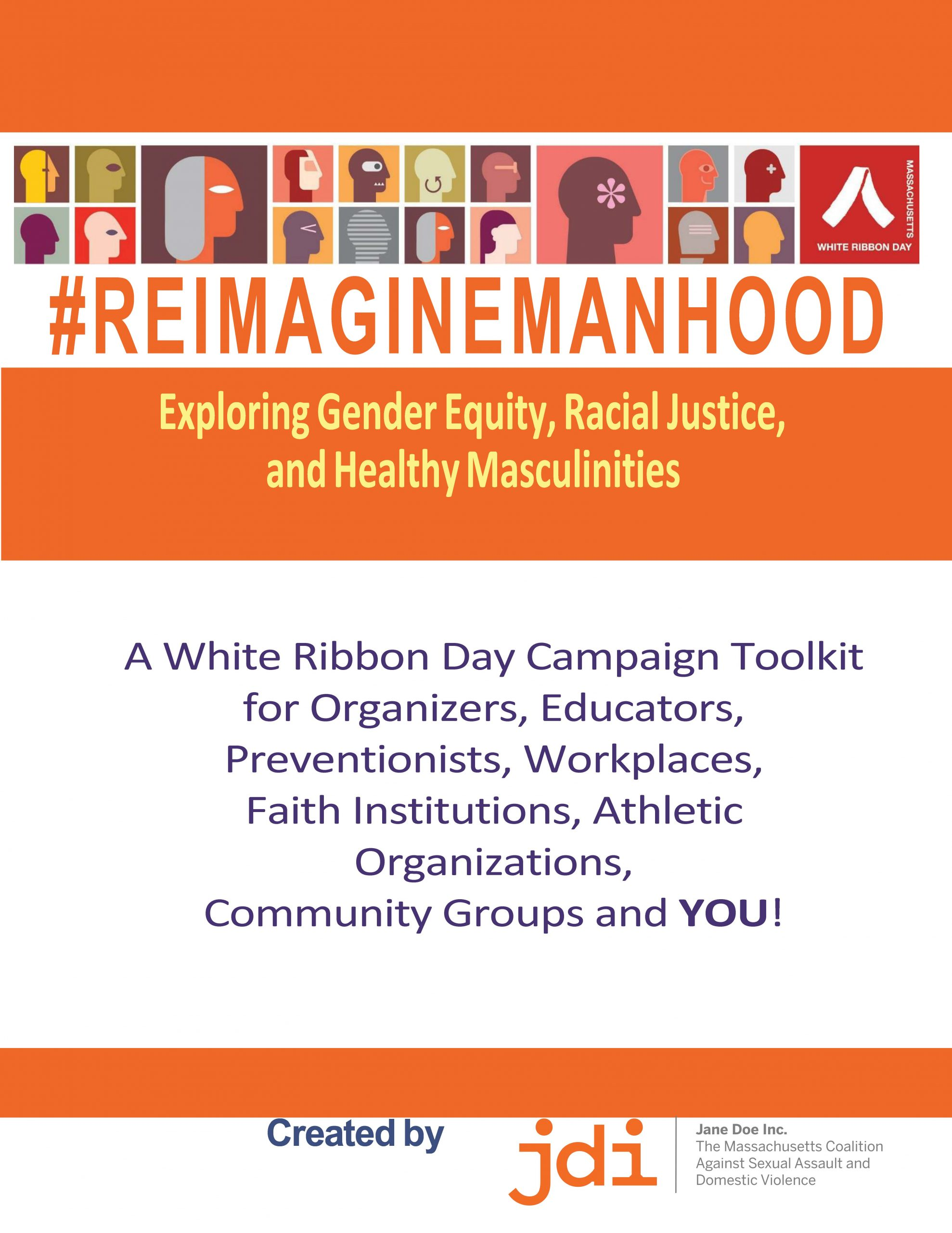Reimagine Manhood Toolkit Cover