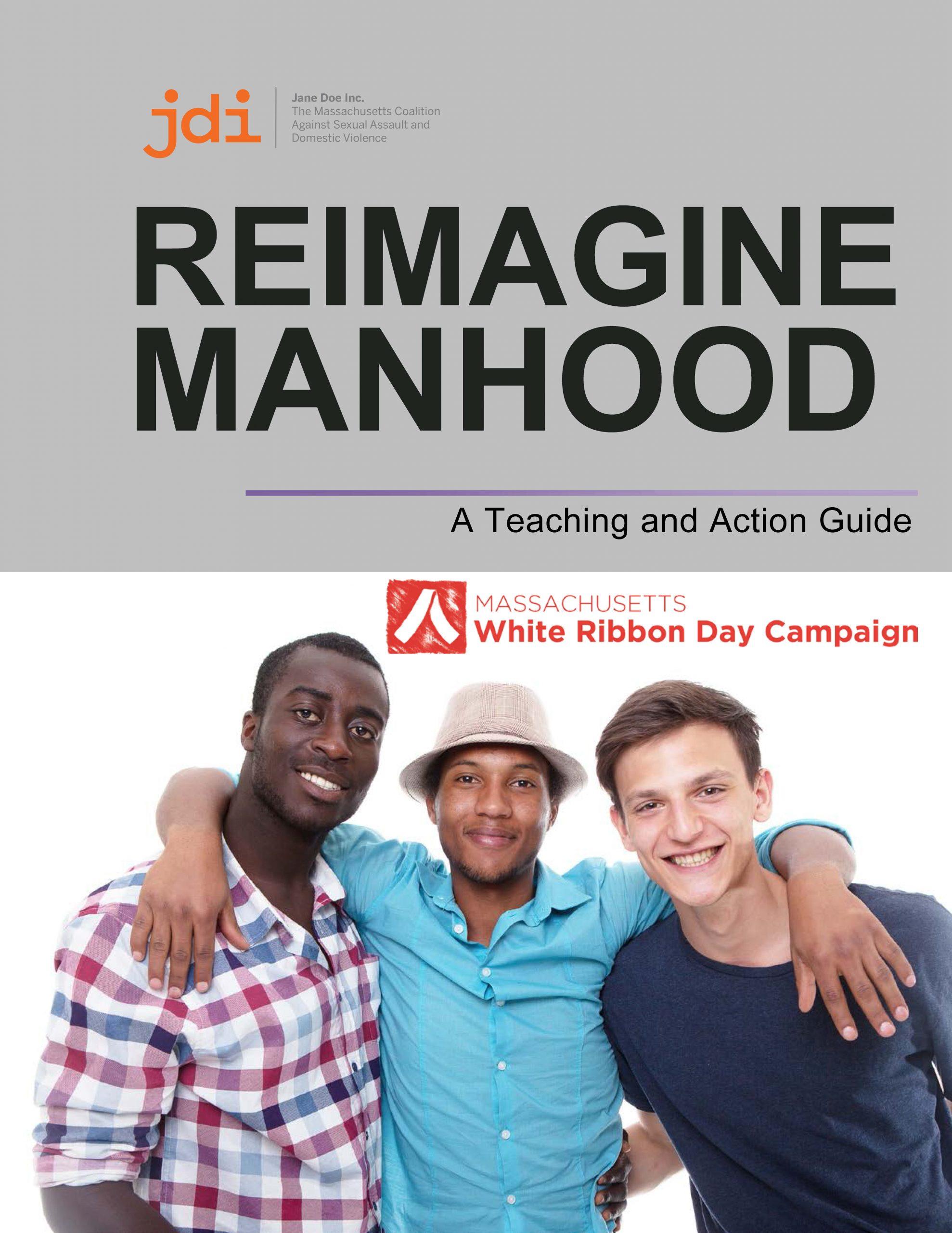 Reimagine Manhood Cover